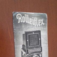 Cámara de fotos: ROLLEIFLEX. ANTIGUO CATÁLOGO ORIGINAL.. Lote 101015387