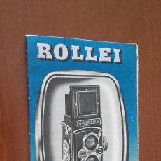 Cámara de fotos: ROLLEI. ANTIGUO CATÁLOGO ORIGINAL.. Lote 101015951