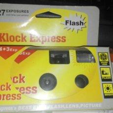 Cámara de fotos: KODAK USAR Y TIRAR KLOCK EXPRESS. Lote 102782266