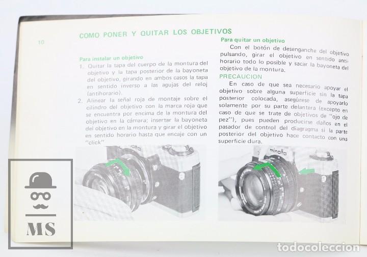 Cámara de fotos: Manual de Usuario para Cámara / Fotos - Minolta XG-2 - Año 1977 - Foto 2 - 103053871