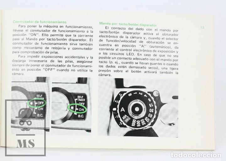 Cámara de fotos: Manual de Usuario para Cámara / Fotos - Minolta XG-2 - Año 1977 - Foto 3 - 103053871