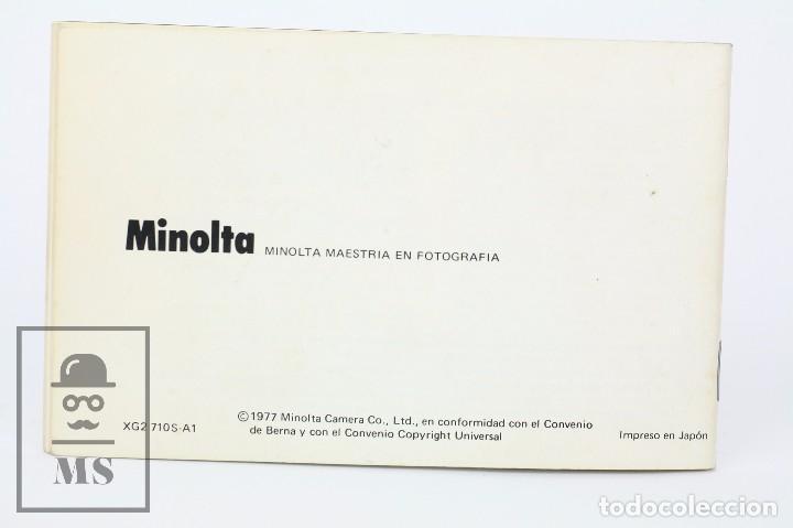 Cámara de fotos: Manual de Usuario para Cámara / Fotos - Minolta XG-2 - Año 1977 - Foto 4 - 103053871