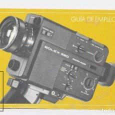 Cámara de fotos: MANUAL DE USUARIO PARA CÁMARA / FOTOS - GUÍA BOLEX 680 MACRO - ZOOM - AÑOS 70. Lote 103054923
