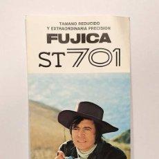 Cámara de fotos: ANTIGUO FOLLETO PUBLICITARIO CAMARA FUJICA ST 701 FUJI FILM FUJIFILM V. Lote 103228003
