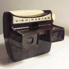 Cámara de fotos: VIEW MASTER VISOR ESTEREOSCÓPICO 3D CON LUZ BAQUELITA 50´S SAWYER. Lote 103584947