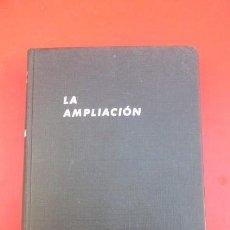 Cámara de fotos: LA AMPLIACION- JACOBSON Y MANNHEIN..TECNICA DEL POSITIVO. 1968-538 PAGINAS.. Lote 103758019