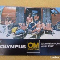 Cámara de fotos: CATALOGO ORIGINAL LENTES OLYMPUS, SISTEMA OM..85 PAGINAS. . AÑOS 80.. Lote 103777439