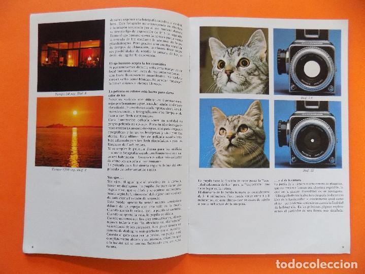Cámara de fotos: REVISTA, CATALOGO HASSELBLAD - UN PEQUEÑO MANUAL DE FOTOGRAFIA - 1973, EN CASTELLANO... R- 7769 - Foto 2 - 104130595