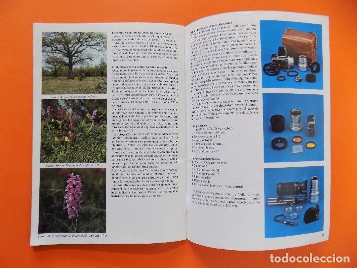 Cámara de fotos: REVISTA, CATALOGO HASSELBLAD - UN PEQUEÑO MANUAL DE FOTOGRAFIA - 1973, EN CASTELLANO... R- 7769 - Foto 4 - 104130595
