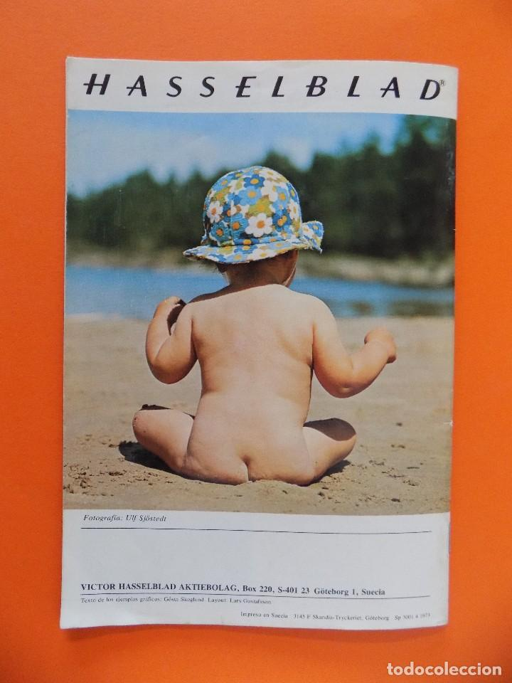 Cámara de fotos: REVISTA, CATALOGO HASSELBLAD - UN PEQUEÑO MANUAL DE FOTOGRAFIA - 1973, EN CASTELLANO... R- 7769 - Foto 5 - 104130595