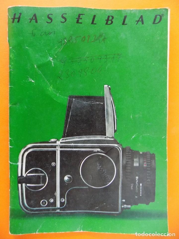 REVISTA, CATALOGO HASSELBLAD - 1974, EN CASTELLANO... R- 7770 (Cámaras Fotográficas - Catálogos, Manuales y Publicidad)