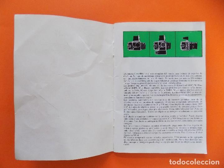 Cámara de fotos: REVISTA, CATALOGO HASSELBLAD - 1974, EN CASTELLANO... R- 7770 - Foto 2 - 108780264