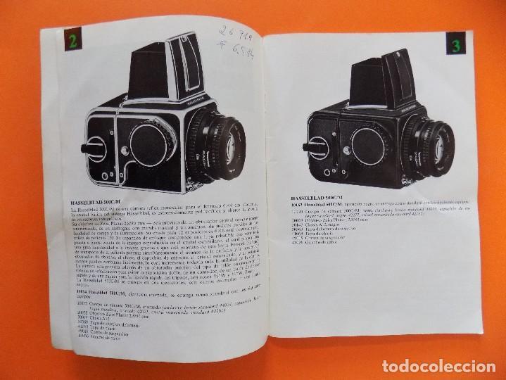 Cámara de fotos: REVISTA, CATALOGO HASSELBLAD - 1974, EN CASTELLANO... R- 7770 - Foto 3 - 108780264