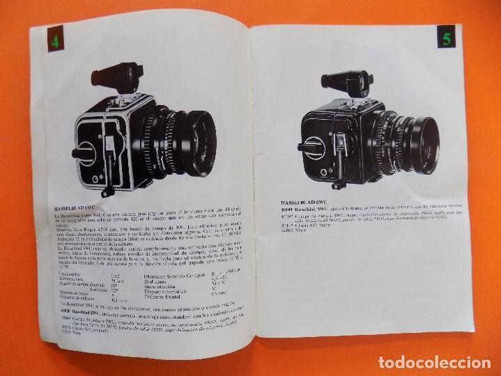 Cámara de fotos: REVISTA, CATALOGO HASSELBLAD - 1974, EN CASTELLANO... R- 7770 - Foto 4 - 108780264