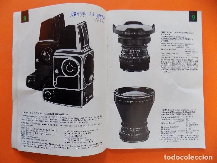 Cámara de fotos: REVISTA, CATALOGO HASSELBLAD - 1974, EN CASTELLANO... R- 7770 - Foto 5 - 108780264