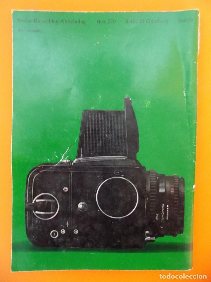 Cámara de fotos: REVISTA, CATALOGO HASSELBLAD - 1974, EN CASTELLANO... R- 7770 - Foto 9 - 108780264
