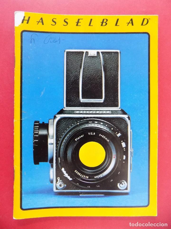 REVISTA, CATALOGO HASSELBLAD - 1976, EN CASTELLANO... R- 7772 (Cámaras Fotográficas - Catálogos, Manuales y Publicidad)