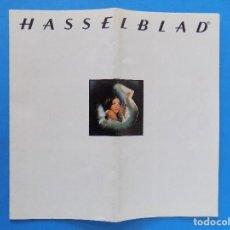 Cámara de fotos: HASSELBLAD - PUBLICIDAD, FOLLETO PLEGABLE - 1974 EN CASTELLANO... R- 7774. Lote 104141655