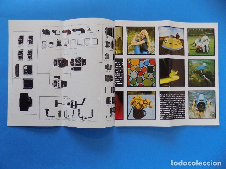 Cámara de fotos: HASSELBLAD - PUBLICIDAD, FOLLETO PLEGABLE - 1974 EN CASTELLANO... R- 7774 - Foto 2 - 104141655