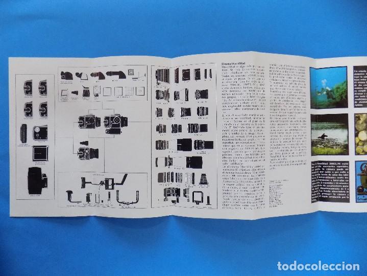 Cámara de fotos: HASSELBLAD - PUBLICIDAD, FOLLETO PLEGABLE - 1974 EN CASTELLANO... R- 7774 - Foto 3 - 104141655