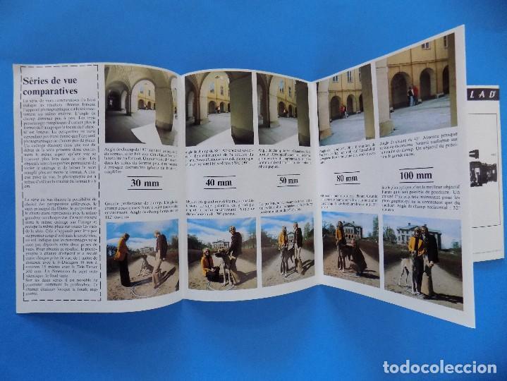 Cámara de fotos: HASSELBLAD - PUBLICIDAD, FOLLETO PLEGABLE - 1973, EN FRANCES... R- 7775 - Foto 5 - 104143459