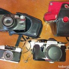 Cámara de fotos: LOTE CAMARAS ANTIGUAS. Lote 222958020