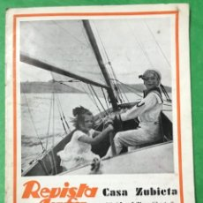 Cámara de fotos: REVISTA AGFA - N° 5 - MAYO 1933 - FOTOGRAFIA - CASA ZUBIETA (FOTÓGRAFO - SANTANDER). Lote 106014663