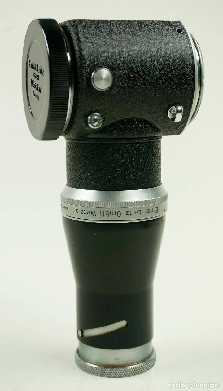 Cámara de fotos: ERNST LEIZ, gmbH wetziar. Visor complemento para cámara Leica - Foto 3 - 106919307