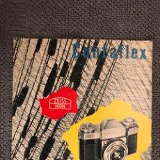 Cámara de fotos: MANUAL CÁMARA FOTOGRÁFICA CONTAFLEX (H.1950?). Lote 106962706