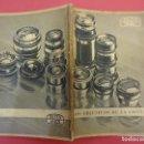 Cámara de fotos: ZEISS IKON. CATÁLOGO OBJETIVOS DE LA CONTAX. ORIGINAL AÑOS 1930. Lote 107222939