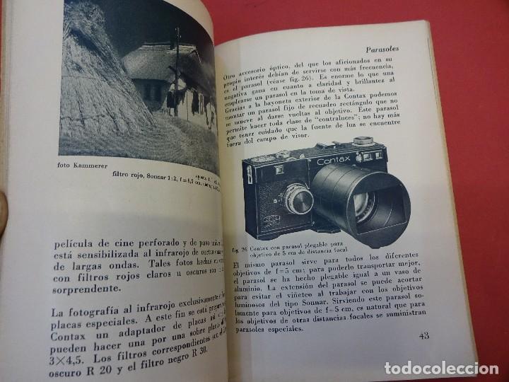 Cámara de fotos: ZEISS IKON. Catálogo objetivos de la CONTAX. Original años 1930 - Foto 2 - 107222939
