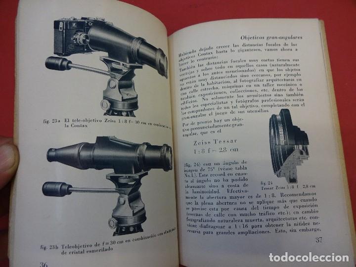 Cámara de fotos: ZEISS IKON. Catálogo objetivos de la CONTAX. Original años 1930 - Foto 3 - 107222939