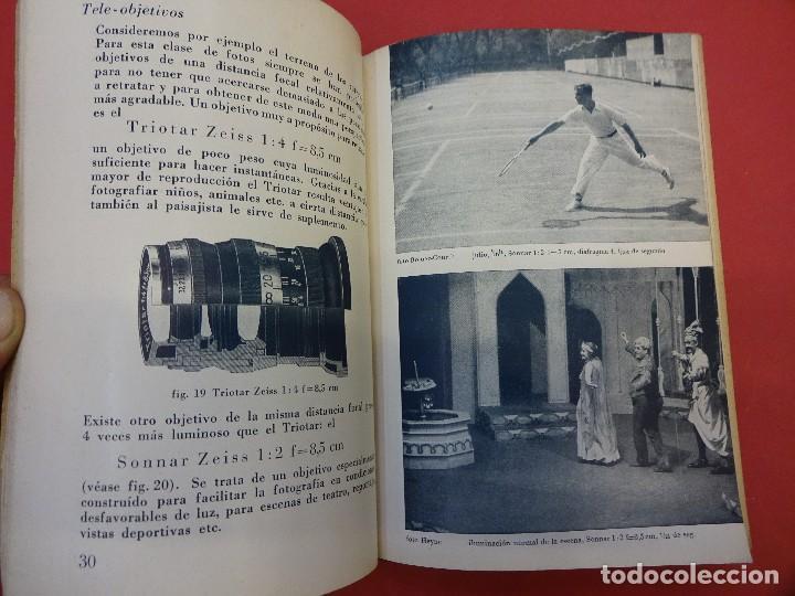 Cámara de fotos: ZEISS IKON. Catálogo objetivos de la CONTAX. Original años 1930 - Foto 4 - 107222939