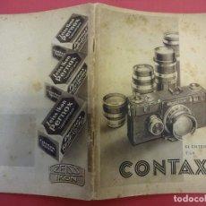 Cámara de fotos - ZEISS IKON. Catálogo El entendido y la CONTAX. Original años 1930 - 107223099