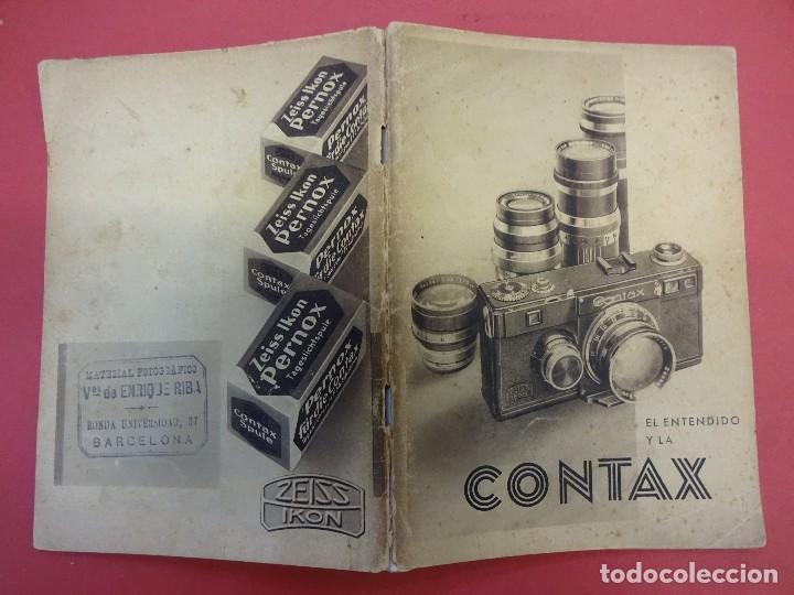 ZEISS IKON. CATÁLOGO EL ENTENDIDO Y LA CONTAX. ORIGINAL AÑOS 1930 (Cámaras Fotográficas - Catálogos, Manuales y Publicidad)