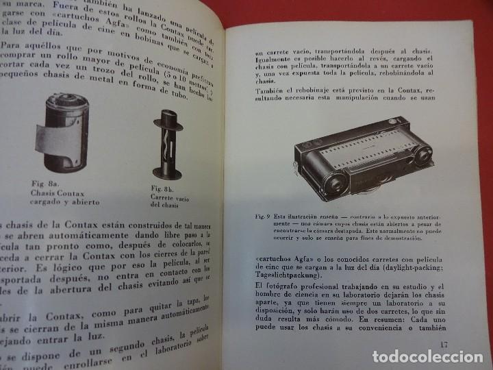Cámara de fotos: ZEISS IKON. Catálogo El entendido y la CONTAX. Original años 1930 - Foto 3 - 107223179