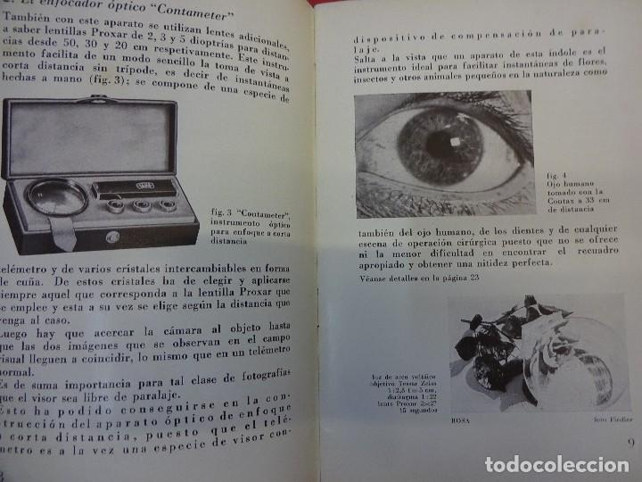 Cámara de fotos: ZEISS IKON. Catálogo Los aparatos adicionales de la CONTAX. Original años 1930 - Foto 3 - 107223279