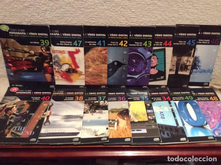 CDS - TODO SOBRE FOTOGRAFIA & VIDEO DIGITAL - LOTE DE 16 CDS - EL MUNDO (Cámaras Fotográficas - Catálogos, Manuales y Publicidad)