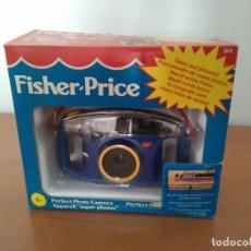 Cámara de fotos: CÁMARA DE FOTOS INFANTIL FISHER PRICE - AÑOS 90 - INCLUYE CARRETE SIN ESTRENAR. Lote 107926715