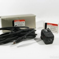 Fotokamera - ADAPTADOR CANON EOS TTL HOT SHOE ADAPTER 3 Y CONNECTING CORD 300 - 108403291