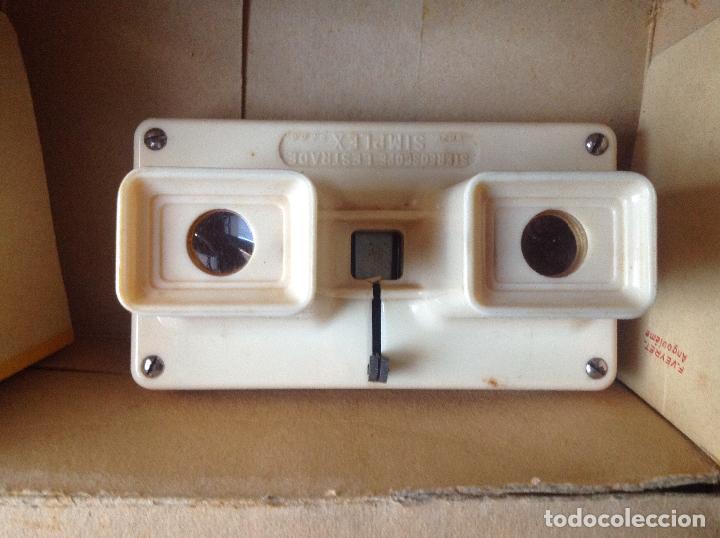 Cámara de fotos: Visor Stereoscope Lestrade. Brev Simplex. Vell i Bell. - Foto 2 - 108887047