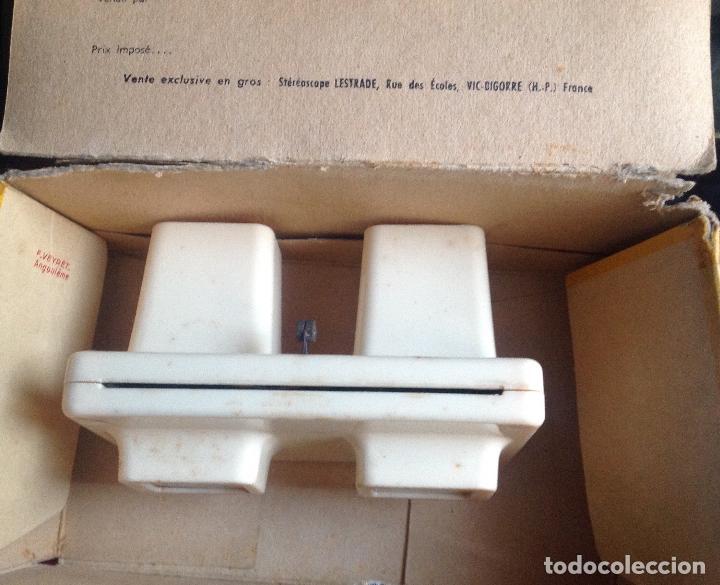 Cámara de fotos: Visor Stereoscope Lestrade. Brev Simplex. Vell i Bell. - Foto 3 - 108887047