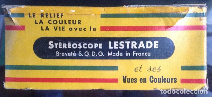 Cámara de fotos: Visor Stereoscope Lestrade. Brev Simplex. Vell i Bell. - Foto 6 - 108887047