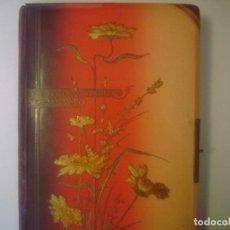 Cámara de fotos: LIBRERIA GHOTICA. GRAN ALBUM MODERNISTA DE FOTOGRAFIAS. 1900. 36X23 CM. EN MUY BUEN ESTADO.. Lote 109590735