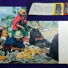Cámara de fotos: ANTIGUO CATALOGO DE CAMARAS ZEISS IKON. AÑO 1957. FOLLETO CAMARA FOTOGRAFICA.. Lote 109815911