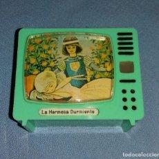 Cámara de fotos: ANTIGUO TELEVISOR VISOR DE DIAPOSITIVAS LA HERMOSA DURMIENTE PLASTISKOP MADE IN GERMANY MUY DIFICIL . Lote 110577895