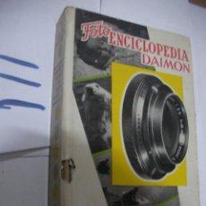 Cámara de fotos: ANTIGUO LIBRO FOTO ENCICLOPEDIA DAMON - FOTOGRAFIA EN BLANCO Y NEGRO. Lote 111449211