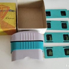 Cámara de fotos: VISOR ESTEREOSCÓPICO, 3D, GUILD VIEWER, CRAFTSMEN'S GUILD, FABRICADO EN HOLLYWOOD, CALIFORNIA, USA,. Lote 112779879