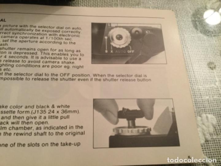 Cámara de fotos: Manual máquina MAKINON MK- V - Foto 4 - 112826839