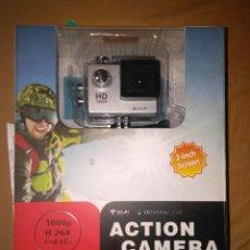Cámara de fotos - camara estilo go pro con wifi action camera valorada en 60€ nueva sin abrir tiene wi-fi - 112919055